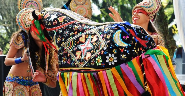 Exposição destaca artesanato de festas brasileiras