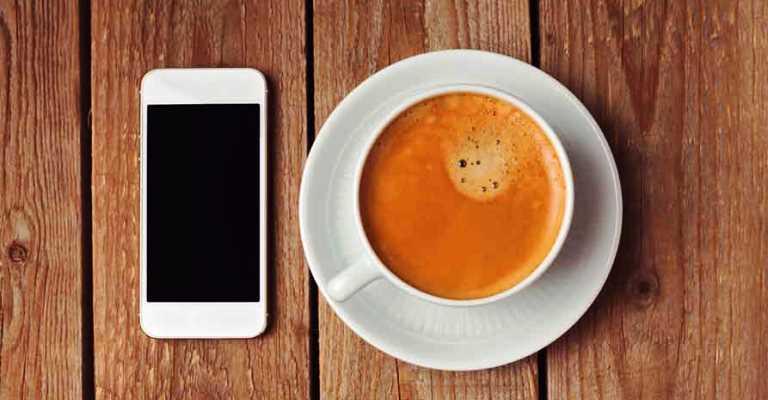 Cafeterias utilizam apps que facilitam pedidos e pagamentos