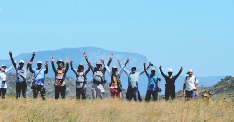 Expedição mapeia reservas naturais em Minas