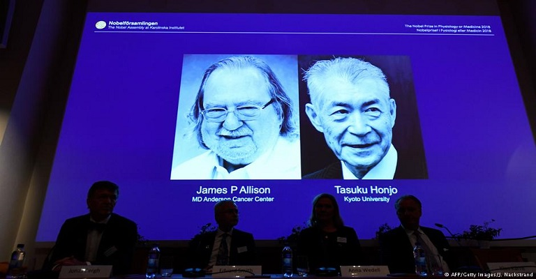 Nobel de Medicina premia avanços contra o câncer