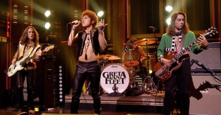 Greta Van Fleet lança álbum de estreia