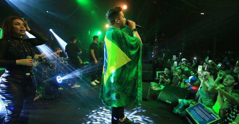 Wesley Safadão termina 2ª turnê pela Europa