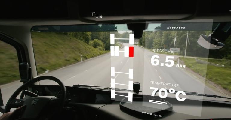 Volvo lança serviço de gerenciamento de pneus