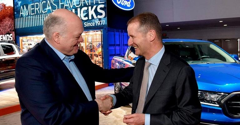Ford e Volks anunciam aliança para produção de veículos