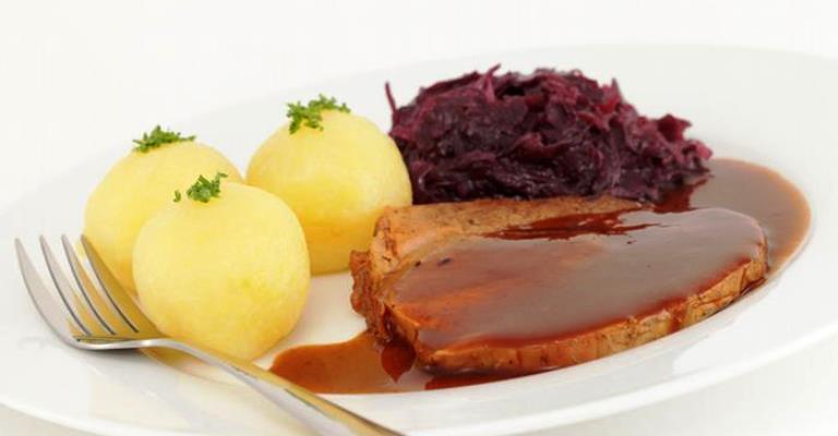 Kartoffelklosse, bolinhos de batata alemães