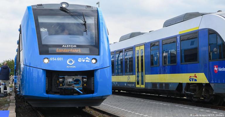 Alemanha estreia trem movido a hidrogênio
