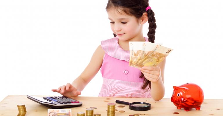 5 formas de ensinar as crianças a guardar dinheiro