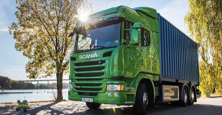 Scania terá caminhão de lixo eletrificado