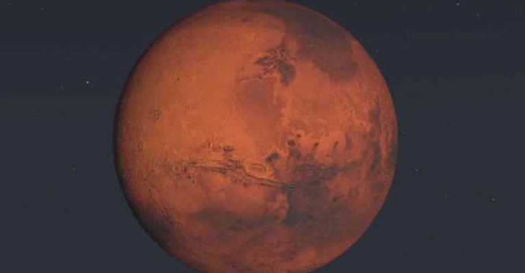 Sonda da Nasa registra tremor na crosta de Marte