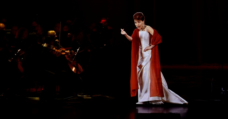 Callas in Concert – The Hologram Tour no Brasil
