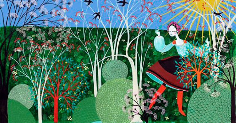 Ilustrações de Charlotte Gastaut nas passarelas