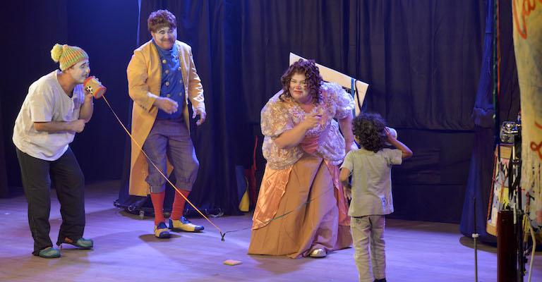Musical infantil anima Teatro Francisco Nunes em BH