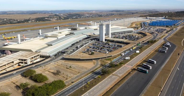 Fluxo de passageiros nos aeroportos de Minas Gerais cresce 4% em 2019
