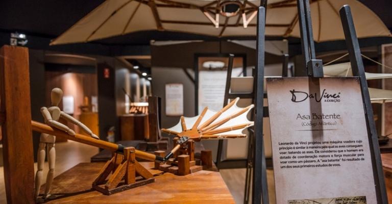 Exposição sobre Leonardo da Vinci em SP retorna em formato virtual