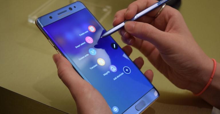 Baterias causaram incêndios do Galaxy Note 7