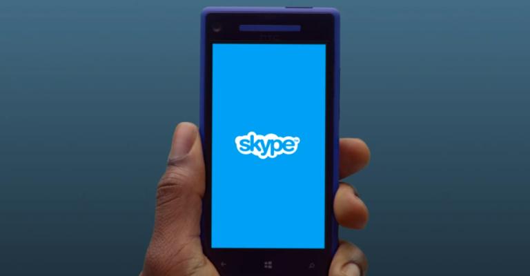 Skype não funcionará mais em Windows Phone