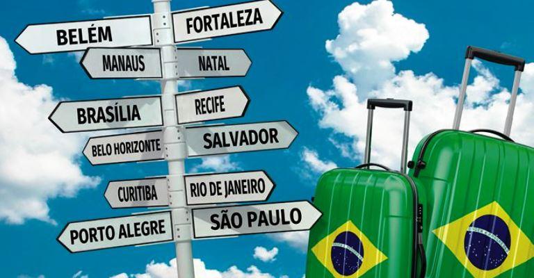 Turismo no Brasil aumenta faturamento em 2,2%, em 2019