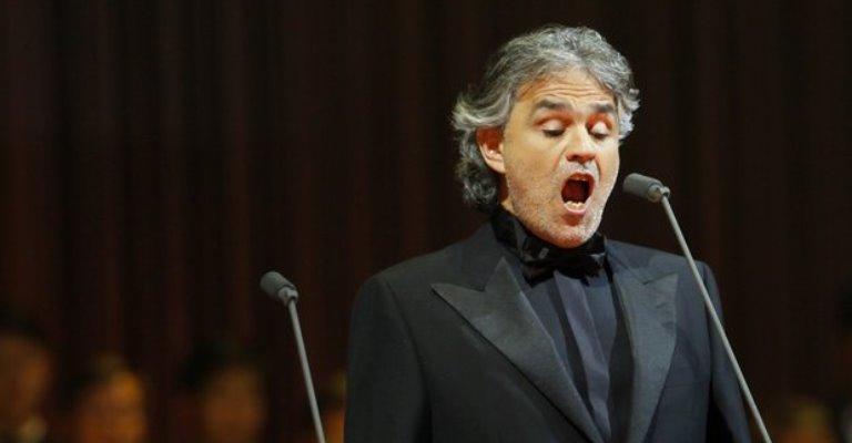 Andrea Bocelli lança novo álbum com inéditas