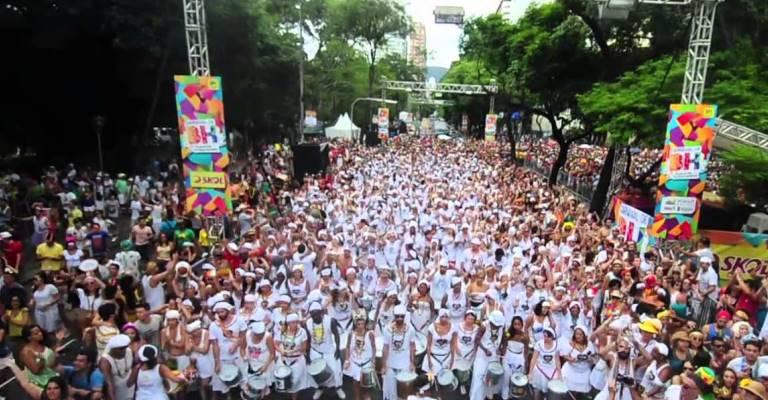 Carnaval de Belo Horizonte reuniu 3 milhões de foliões