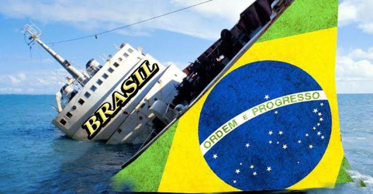 O Brasil está andando pra trás