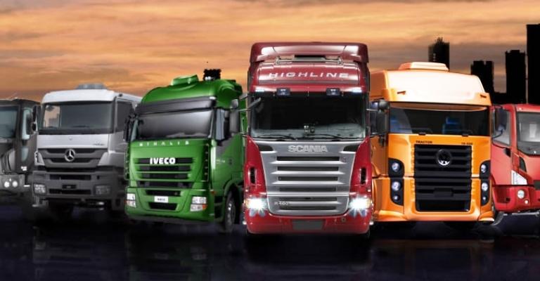 Vendas de caminhões crescem 51%