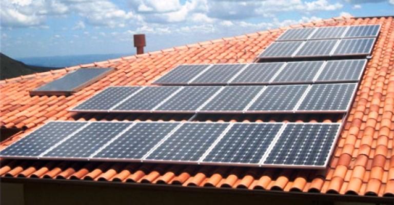 Casas com energia solar terão desconto de 10% no IPTU