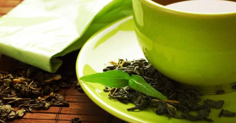 O chá verde na perda de peso