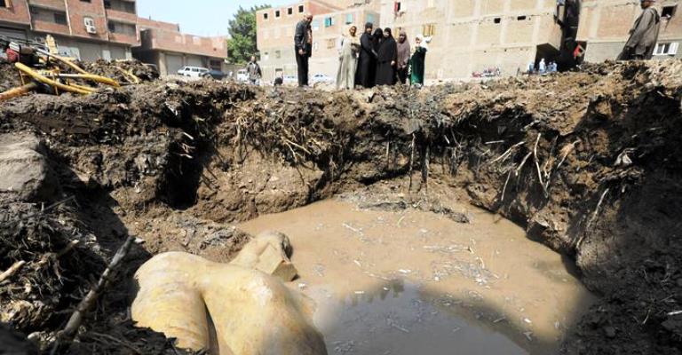 Estátua encontrada no Cairo não é de Ramsés 2º