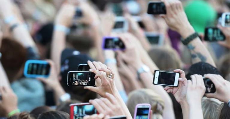 """""""Foto de smartphone é comunicação"""""""