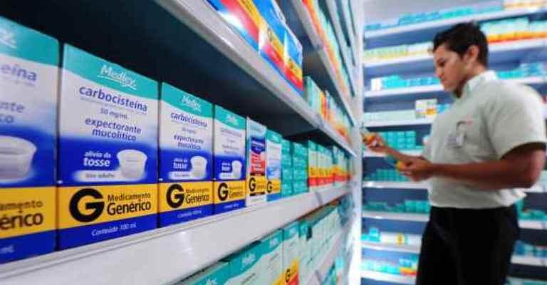 Genéricos já dividem espaço com medicamentos de marca