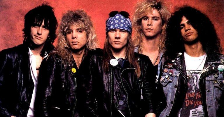 Guns N' Roses lança palheta customizada nas redes sociais