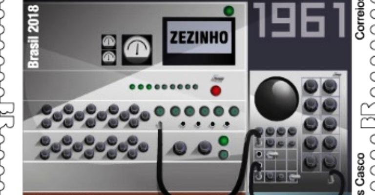 Correios lança selos sobre a história da computação brasileira