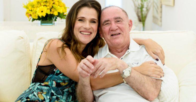 Ingrid Guimarães homenageia Renato Aragão