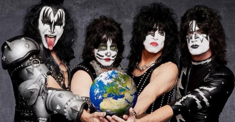 Kiss fará 7ª turnê no Brasil em 2020