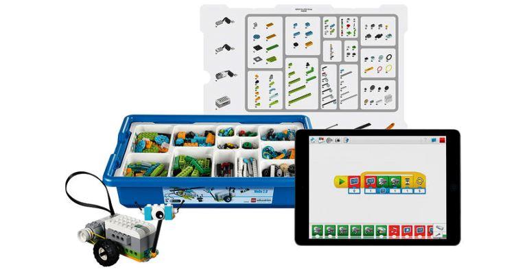 Lego é usado para ensinar robótica