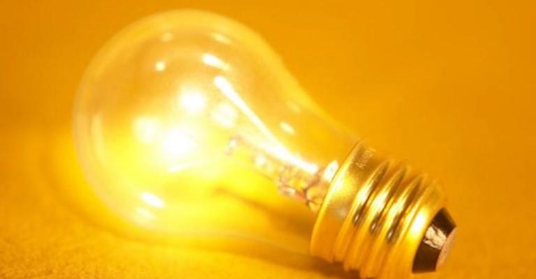 Valores pagos a mais serão devolvidos na conta de luz