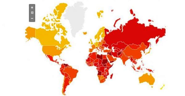 Brasil piora posição em ranking mundial de corrupção
