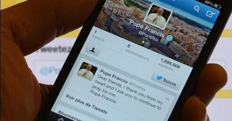 Papa Francisco é o 3º líder mais popular do mundo