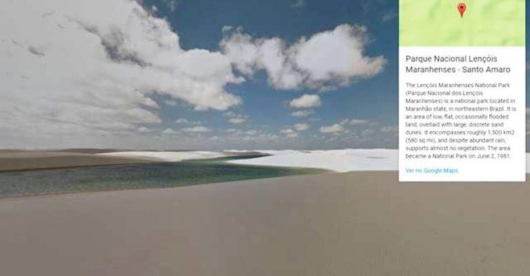 Google Street View oferece passeio virtual por parques
