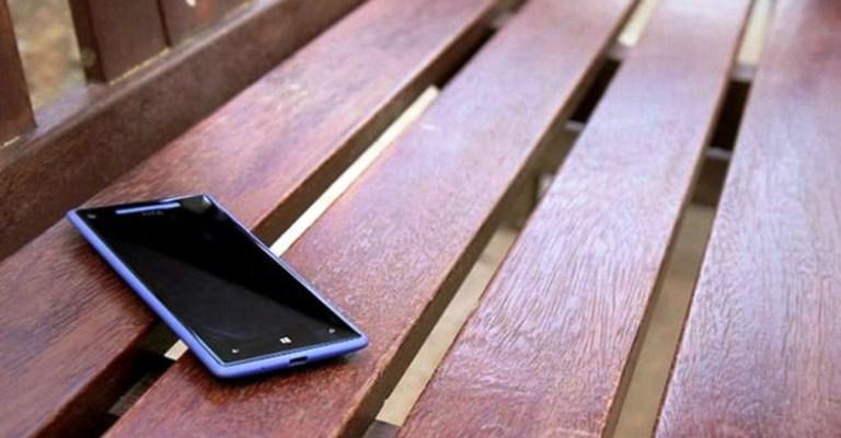 E se você perder o seu celular?