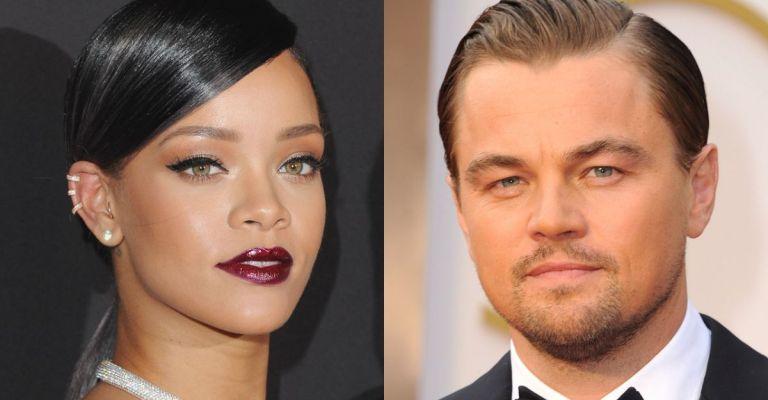 Rihanna e DiCaprio são flagrados juntos em festival
