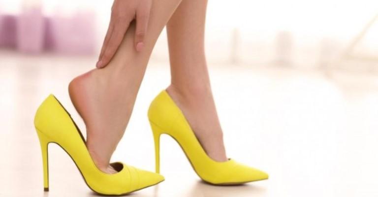 Mais de 1/3 das mulheres já caíram do salto