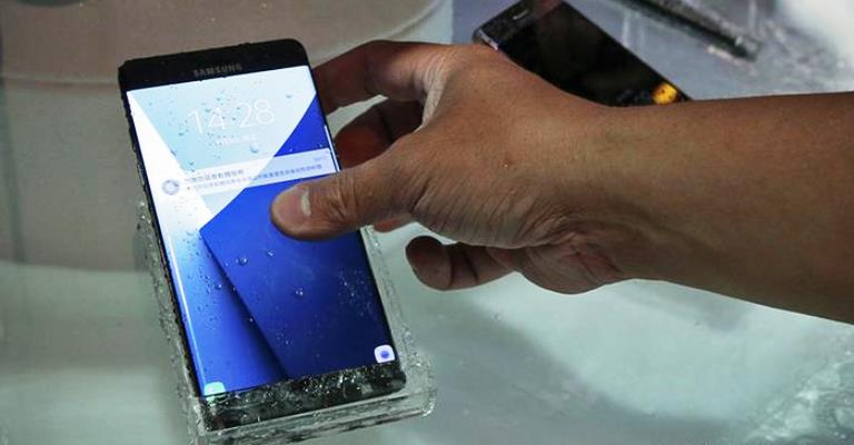 Samsung faz recall mundial do Galaxy Note 7