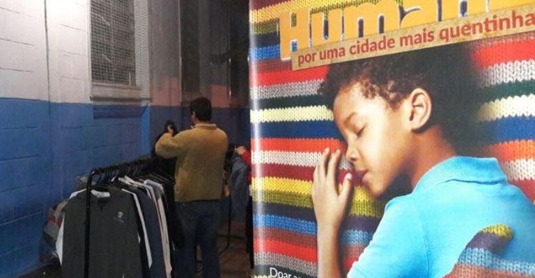 Servas reabre campanha Calor Humano