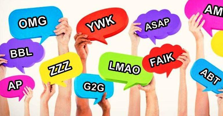 Siglas mais importantes em inglês para usar na internet