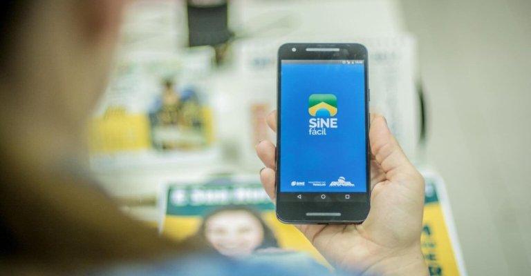 App do Sine Fácil chega a 2 milhões de instalações