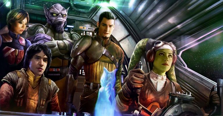 Disney lança animação da saga Star Wars