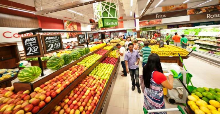 Vendas de supermercados sobem 1,92% no país
