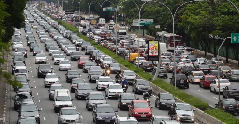 Brasil tem 65,8 milhões de veículos em circulação