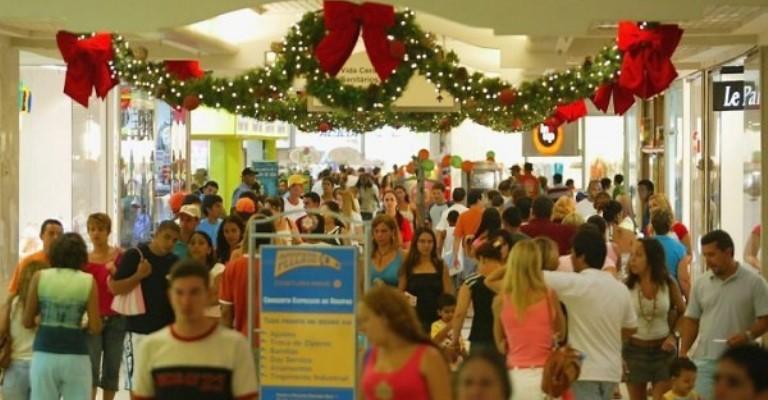 Aumento nas vendas nos shoppings para o Natal pode chegar a 10%